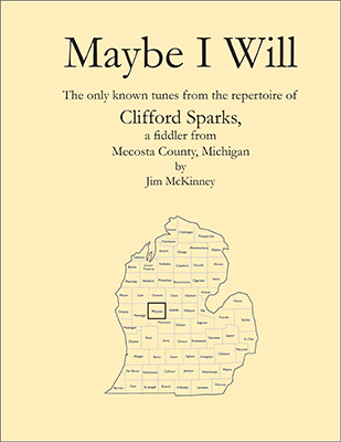 Clifford Sparks tunebook cover